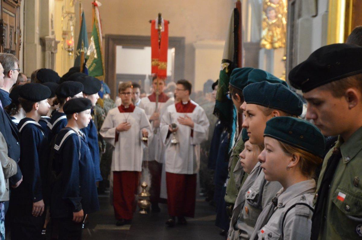 Uroczystość 3 Maja w Bazylice Archikatedralnej