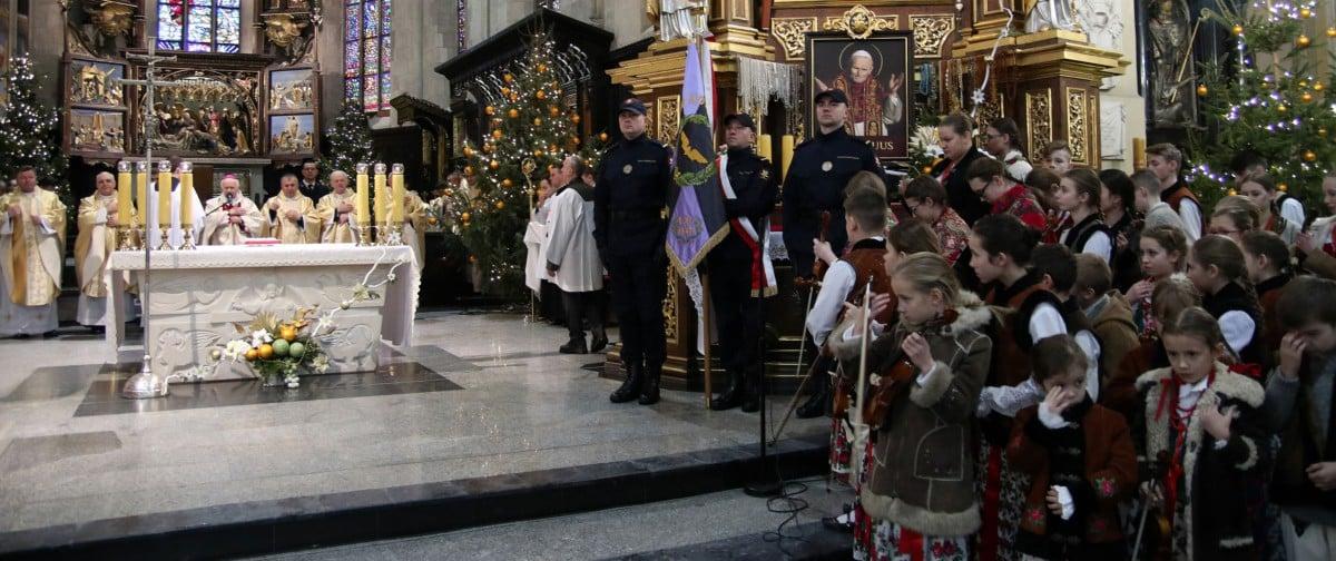 Eucharystia sprawowana pod przew. abpa Adama Szala, Przemyśl, 26 stycznia 2019 r., fot. Piotr Michalski