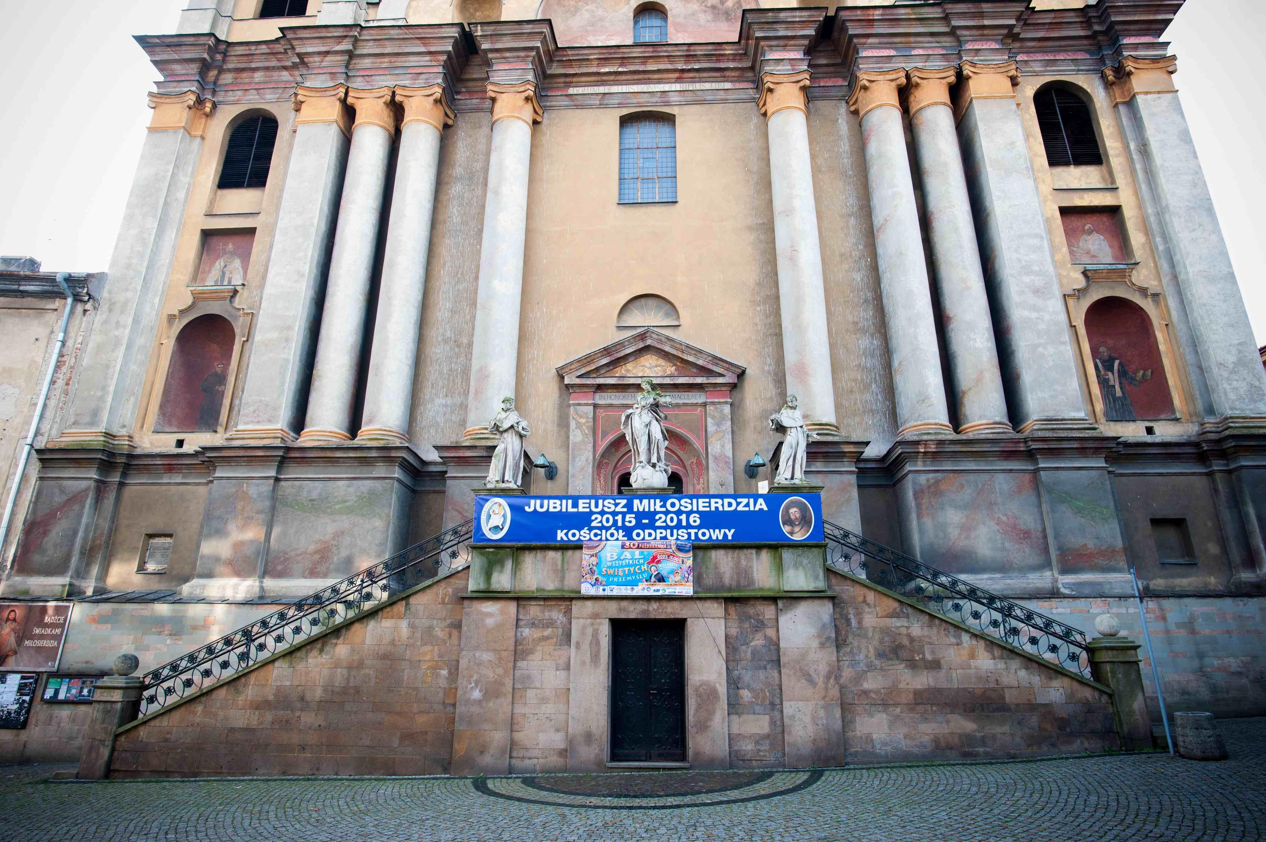Wejście do Kościoła Dolnego