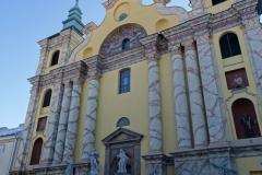 Fronton kościoła po zakończeniu prac – 30 listopad 2018r.
