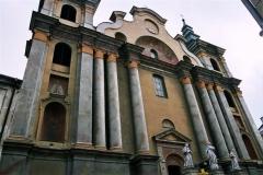 Kościół Franciszkanów przed konserwacją.