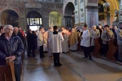 Wigilia Pachalna w Kościele OO. Franciszkanów w Przemyślu
