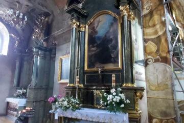 Prace Remontowe w Kościele OO. Franciszkanów w Przemyślu (czerwiec 2021)